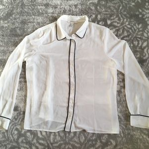 White business blouse